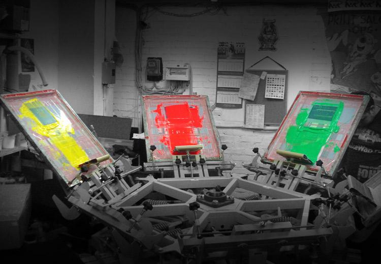 печать на футболках печать шелкографией