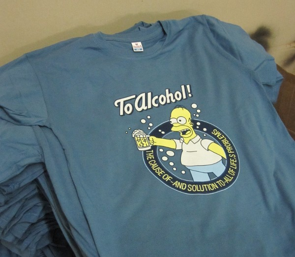 шелкография на футболках veraxprint