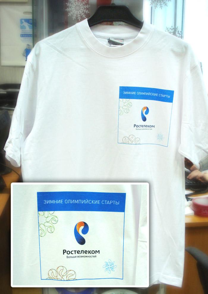 печать по футболкам шелкография москва