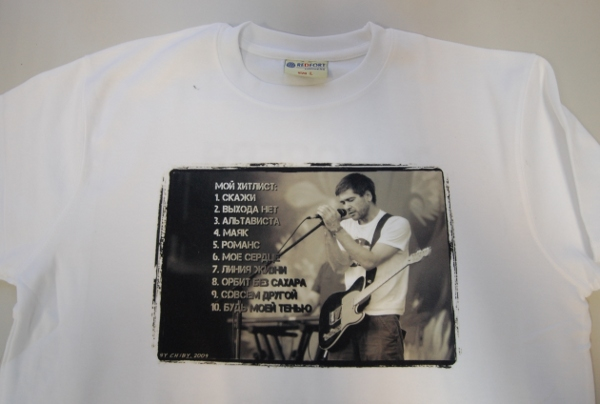 шелкография и сублимация на футболках