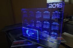 Акрилайт настольный календарь на 2016 год