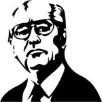 коврик для мыши Горбачев - Интернет магазин прикольных футболок...